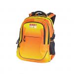 Easy flow 920749 Batoh školní tříkomorový duhový žluto - oranžový, profilovaná záda, 26 l