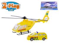 Helikoptéra 18 cm kov s autem 7,5 cm kov 2-Play - mix variant či barev