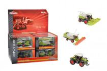 Majorette Poľnohospodárske stroje CLAAS 9 -13 cm - mix variantov či farieb - VÝPREDAJ