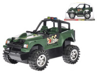 Auto terénne vojenskej 30 cm na zotrvačník