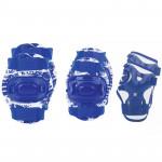 Spokey Aegis 3-dielna sada detských chráničov modré veľkosť S