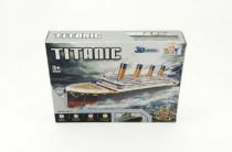 Pěnové puzzle 3D Titanic 113 dílků