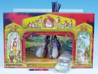 Divadlo Stilet rozprávkové bábkové papierové 11ks postavičiek