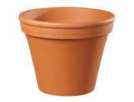 Kvetník KLASIK keramický terakota 6 / 7x6cm - VÝPREDAJ
