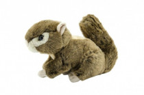 Veverička plyšová 27 cm
