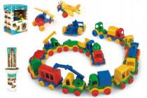 Auto Kid Cars mini plast 10cm Wader - mix variantov či farieb