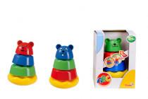 Pyramída zvieratko - mix variantov či farieb