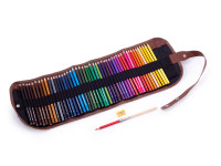 Farebné pastelky v rolovacím puzdre Cuculi, 48 kusov