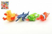 Zvieratko naťahovacie plávacie na karte 18m + - mix variantov či farieb