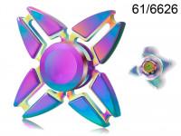 Spinner kovový dúhový Crazy Gyro II