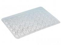 tácku kryštál 19,5x29,5cm imitácia skla plastový