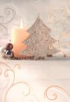 Dárková taška DAB-vánoční svíčka 32cm, DITIPO - VÝPREDAJ