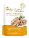 Applaws Cat kaps. kuracie prsia a hovädzie v aspiku 70 g