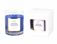 Sviečka v skle Parfum No.7 Čierny Panter vonná 250g