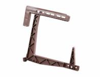 Držák truhlíku HERKULES balkónový stavitelný hnědý