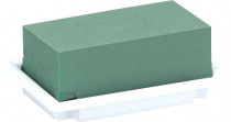 Florex - table deco miska bílá mini 13x9x5 cm - 8 ks