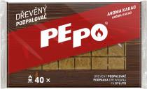 PE-PO podpaľovač drevený - 40 podpáli