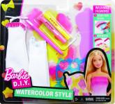 Barbie D.I.Y. akvarelové návrhářství