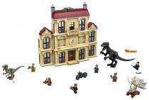 Lego Jurassic World 75930 Vyčíňanie Indoraptora v Lockwoo ..