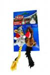 Hračka mačka Vianočný Myš 14-17cm plyš TR 1ks