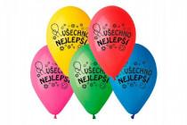 Balonek nafukovací 10'' průměr 26cm Všechno nejlepší