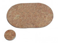 prestieranie kruh 10cm hladký korok (6ks)