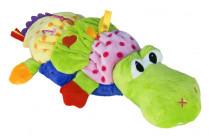 Aligátor plyšový pro nejmenší 35 cm