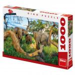 Slony z Botswany 1000D