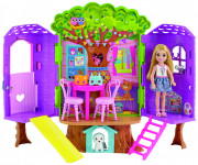Barbie Chelsea a domček na strome