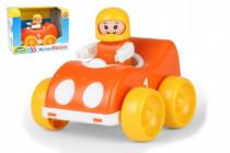 My First Racers závodní auto + figurka plast 10cm 12m+