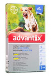Advantix SO pes nad 25kg auv modrý sol 1 x 4 ml