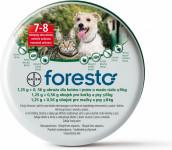 Foresto 1,25 g + 0,56g obojok pre mačky a psov do 8kg obojok 1ks 38 cm