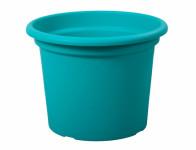 Kvetník GEO plastový modrý 20x15cm
