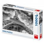 Puzzle 1000 dílků: Mračna nad Eiffelovkou