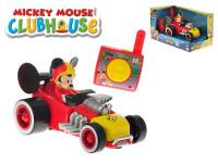 Mickey Mouse R/C závodní formule 13 cm 2,4 GHz na baterie