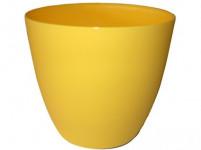 Obal Ella - matná žltá 13 cm