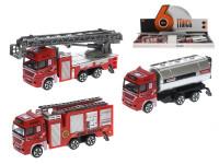 Auto hasiči kov 12 cm voľný chod - mix variantov či farieb