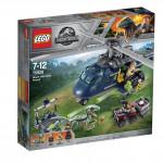Lego Jurassic World 75928 Prenasledovanie Blue helikop ..