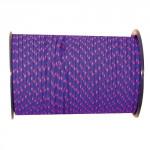 šňůra PES s duší 5mm barevná pletená (100m)