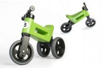 Odrážadlo zelené FUNNY WHEELS NEW SPORT 2v1 výška sedadla nastaviteľná 28 / 31cm nosnosť 50kg 18m +
