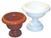 Čaše DK - biela 27 cm