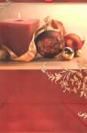 Dárková taška DAB, vánoční motiv, cihlová 32cm, DITIPO