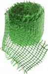 Jutová stuha 4 cm x 3 m - svetlo zelená