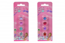 Sada prstýnků pro holčičky - mix variant či barev
