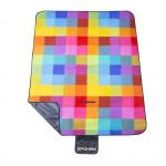 Spokey Picnic Colour pikniková deka s popruhem 130x150 cm