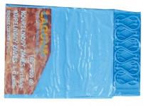 záves kúpeľ. UNI 180x200cm PVC + 12 háčikov - mix farieb