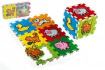 Penové puzzle Moja prvé zvieratká 6ks MPZ