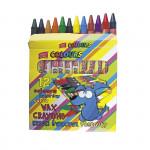 Voskovky mix 12 barev/sada