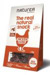 Naturea pamlsky Natural snack pes kuřecí játra 80g