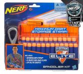 NERF Elite 2 náhradné zásobníky s popruhom a 24 šípkami